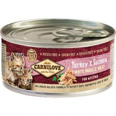 Carnilove Kitten Turkey and Salmon 100 g conserva