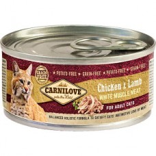 Carnilove Adult Cat Chicken and Lamb 100 g  conserva