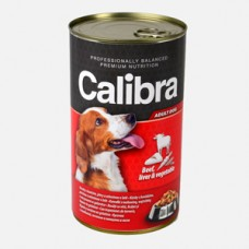 Calibra Dog Conserva Beef Liver and Vegetables in Jelly 1240 g