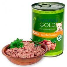Maradog Gold vita si pui - conserva 400 g