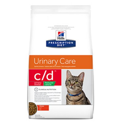 Hills PD Feline C/D Stress Reduced Calorie 1.5 kg