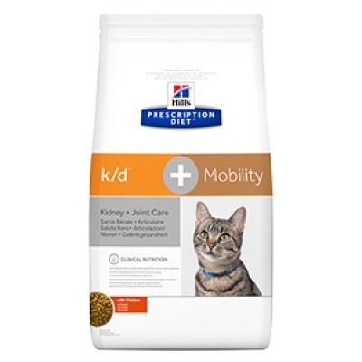 Hills PD Feline K/D plus Mobility 2 kg
