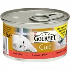 Gourmet Gold Savoury Cake cu vita si rosii 85 g