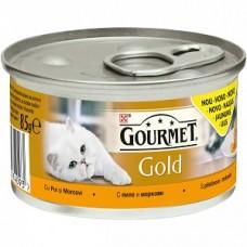 Gourmet Gold Savoury Cake cu pui si morcovi 85 g