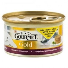 Gourmet Gold Savoury Cake cu miel si fasole verde 85 g