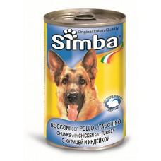 Simba dog cons pui/ curcan 415 g
