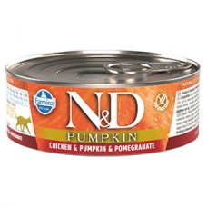 N and D Cat Chicken and Pumpkin and Pomegranate conserva 80 gr