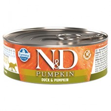 N and D Cat Duck and Pumpkin conserva 80 gr