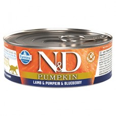 N and D Cat Lamb and Pumpkin and Blueberry conserva 80 gr
