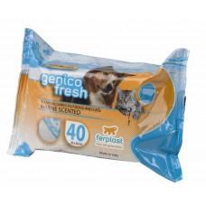 Ferplast servetele caini/pisici genico fresh marine 40 buc