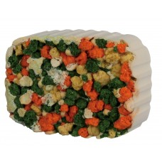 Bloc Calciu Alge Crochete pentru Rozatoare si Suport 190 g 6012