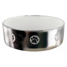 Castron Ceramic 1.5 l/19 Gri cu Alb 25085