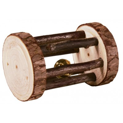 Jucarie Din Lemn pentru Rozatoare cu Clopotel 5x7 cm 61654