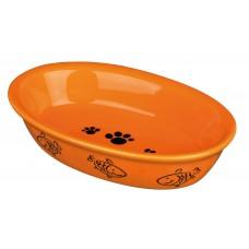 Castron Ceramica Oval 0 2 L/15x10 cm 24495
