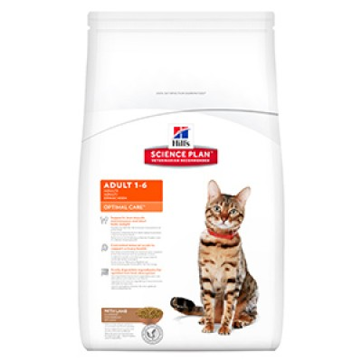 Hills SP Feline Adult Optimal Care Lamb 5 kg
