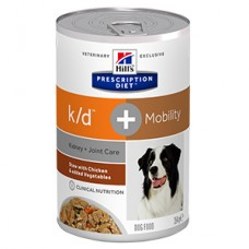 Hills PD Canine K/D plus Mobility Chicken and Vegetable Stew 354 g