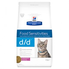 Hills PD Feline D/D Duck and Pea 1.5 kg