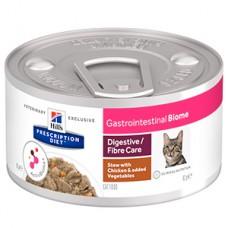 Hills PD Feline Gastrointestinal Biome Chicken and Vegetable Stew 82 g