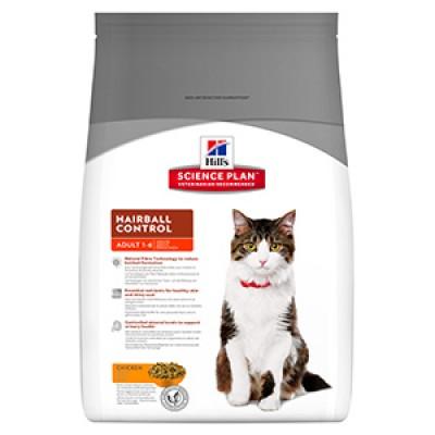 Hills SP Feline Adult Hairball Chicken 5 kg