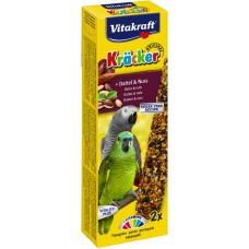 Vitakraft baton papagali nuci/curmale 2 buc