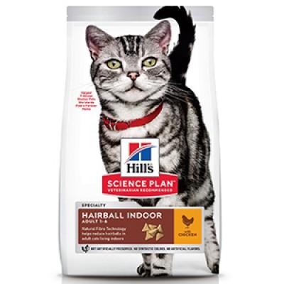 Hills SP Feline Adult Hairball and Indoor Chicken 3 kg