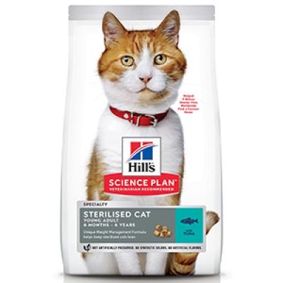 Hills SP Feline Young Adult Sterilised Tuna 300 g
