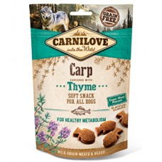 Carnilove Dog Semi Moist Snack Carp with Thyme 200 g