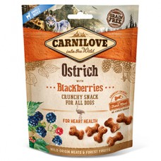 Carnilove Dog Crunchy Snack Ostrich with Blackberries 200 g