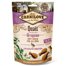 Carnilove Dog Semi Moist Snack Quail with Oregano 200 g