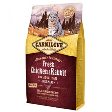 Carnilove Fresh Chicken and Rabbit for Adult Cats 2 kg