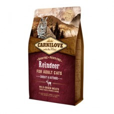 Carnilove Reindeer Cats Energy and Outdoor 2 kg