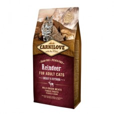 Carnilove Reindeer Cats Energy and Outdoor 6 kg