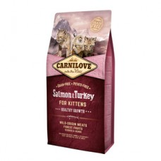 Carnilove Salmon and Turkey for Kittens 6 kg