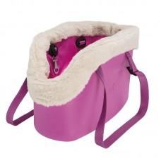 Ferplast geanta transport with-me winter pink