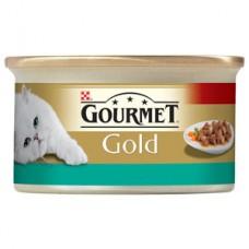 Gourmet Gold somon, pui in sos  85 gr