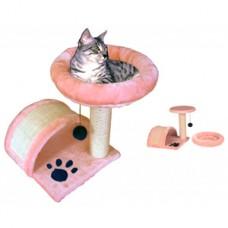 Ansamblu de joaca pentru pisici cu pat 42 cm
