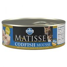Matisse Cat Mousse Codfish conserva 85 gr