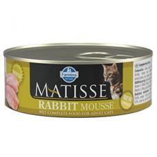 Matisse Cat Mousse Rabbit conserva 85 gr