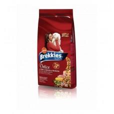 Brekkies Cat Delice Carne Pui Curcan 20kg