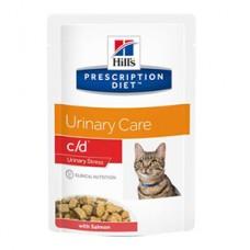 Hills PD Feline C/D Multi Stress Somon 85 g (plic)