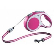 Flexi Lesa Vario Cord S 8 m roz