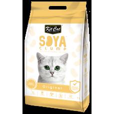 Asternut igienic pentru pisici KIT CAT SOYA CLUMP - Original- 7L