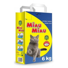 Nisip Pisici MIAU MIAU Clasic 6kg