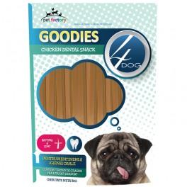 Recompense 4DOG Goodies Dental Sticks Pui si Biotina 80g