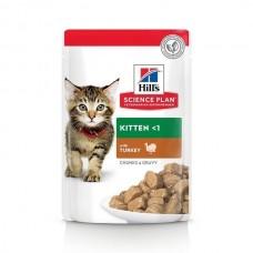 Hills SP Feline Kitten Turkey 85 g (plic)